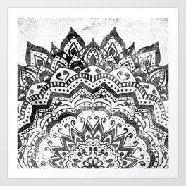 ORION JEWEL MANDALA Art Print