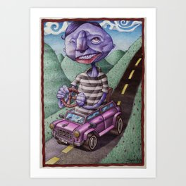 The Distance Is Nearsighted Art Print