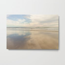 The Afternoon Lingered Metal Print