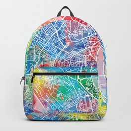 cologne map watercolor Backpack
