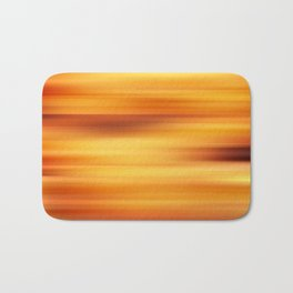 Abstract background blur motion sun stripes Bath Mat