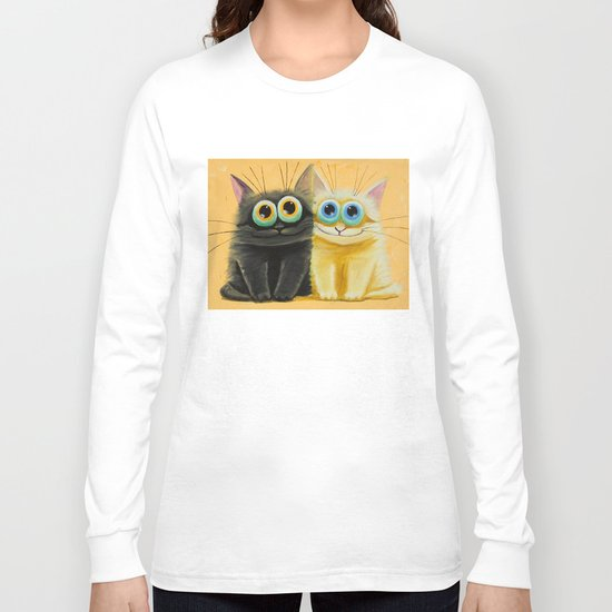 cat play Long Sleeve T-shirt