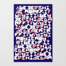 Americana Chaos Canvas Print