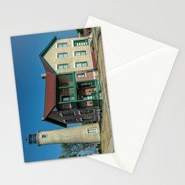 Southport Light Station Lighthouse Kenosha Wisconsin Lake Michigan Stationery Cards