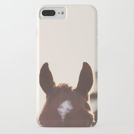 I'm all ears. iPhone Case