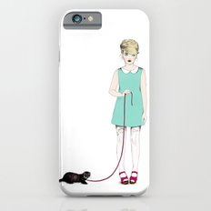 The girl with the ferret iPhone 6s Slim Case