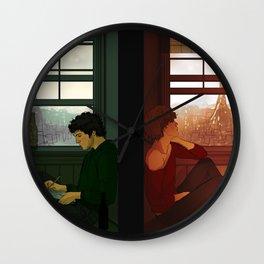 Enjolras & Grantaire Wall Clock