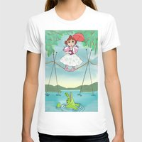 haunted mansion T-shirts featuring Baby Haunted Mansion Tightrope Ballerina by Amanda K. Hootman