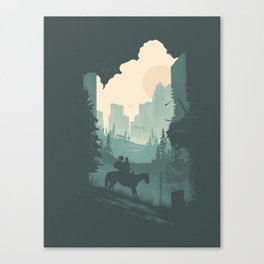 Ellie & Dina Canvas Print