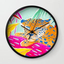 Vibrant Jungle Wall Clock