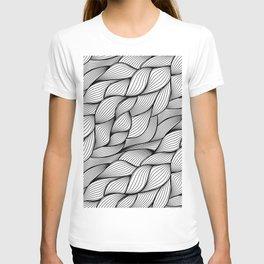 Thread monochrome T-shirt