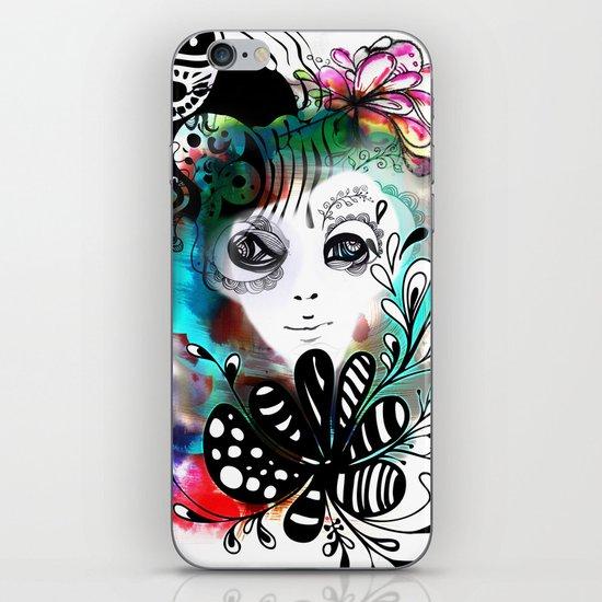 funny girl iPhone & iPod Skin