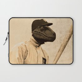 Baseball Velociraptor Laptop Sleeve