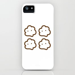Brown Cloudy iPhone Case