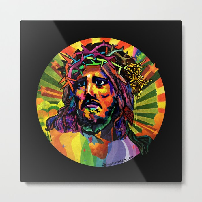 Creator Jesus Metal Print