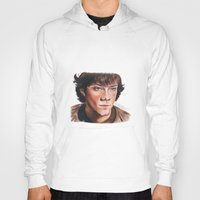 sam winchester Hoodies featuring Jared Padalecki/Sam Winchester by Londonhazz