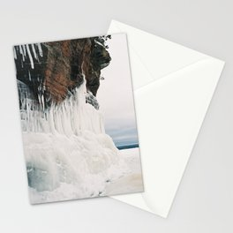 sea caves Stationery Cards