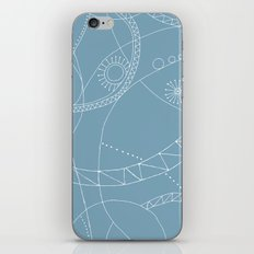 Cosmic Chatter iPhone & iPod Skin