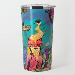 Ancient Books of War Travel Mug