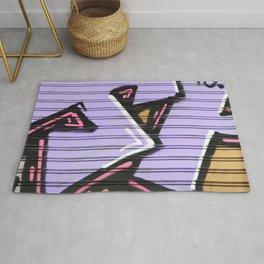 Street Art - Violet Urban Collection Rug
