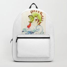 A happy dragon Backpack