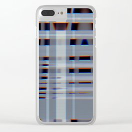 filmtest-lightglitch-3 Clear iPhone Case