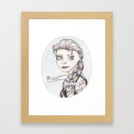 Riot Queen Framed Art Print