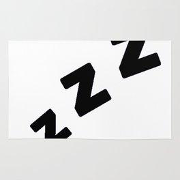 Zzzs in Black Rug
