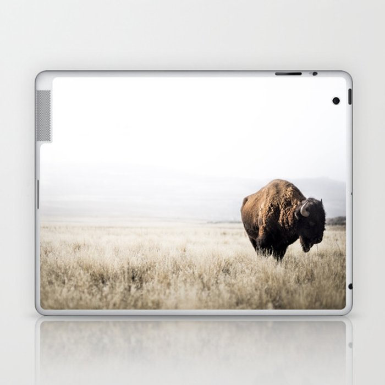 Bison stance Laptop & iPad Skin