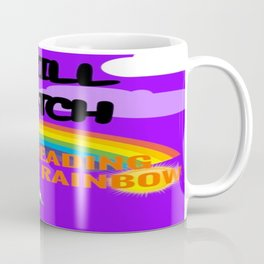 Reading Rainbow Coffee Mug