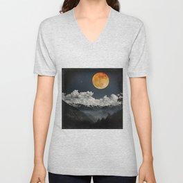 Moon Melodies Unisex V-Neck