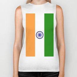 Flag of India Biker Tank