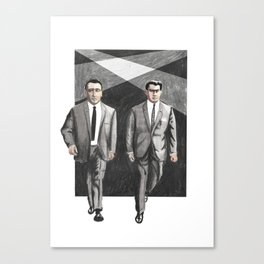 Kray Twins  Canvas Print