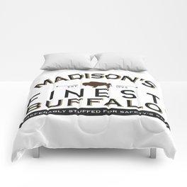 live or stuffed Comforters