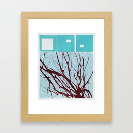 Pulse Framed Art Print