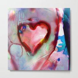 Heart Dreams 4H by Kathy Morton Stanion Metal Print