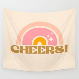 cheery cheers Wall Tapestry