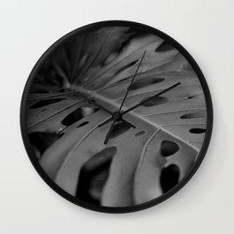 Leaf (Film Photography) Wall Clock