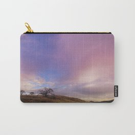 Panoramic Meadow Sunset Carry-All Pouch