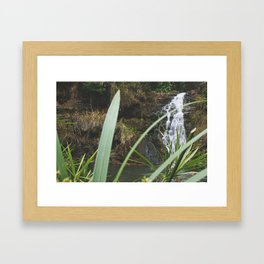 In the depth of it all while in Hawaii Framed Art Print