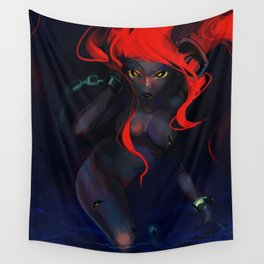Lover, Don't Hover Wall Tapestry