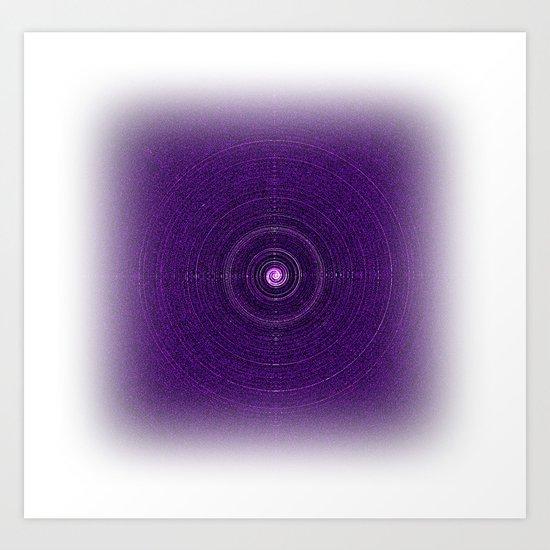 Space Bass Art Print