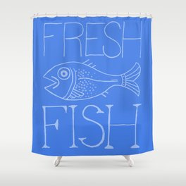 Fresh Fish Shower Curtain