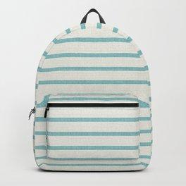DHURBAN STRIPE AQUA Backpack