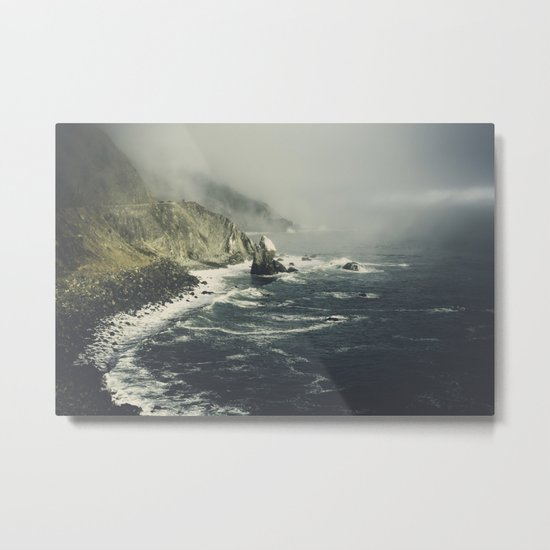 Pacific Coast Way Metal Print