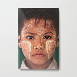 People of Myanmar  Metal Print