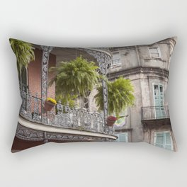 New Orleans Looking Down Royal Rectangular Pillow