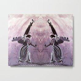 Angel of the Waters NYC Metal Print