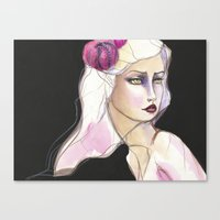 jane davenport Canvas Prints featuring Green Eyed by Jane Davenport by Jane Davenport