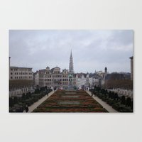 brussels Canvas Prints featuring Brussels by Michael Cunningham